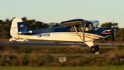 LV-YQF - Piper PA-11-90 Cub Special - Aero Club Rio de la Plata