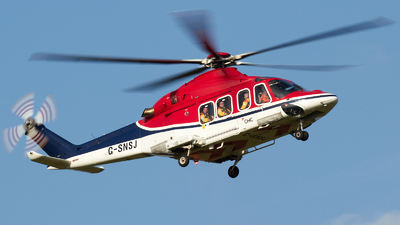 A picture of GSNSJ - AgustaWestland AW139 - CHC Helikopter Service - © David Blaker