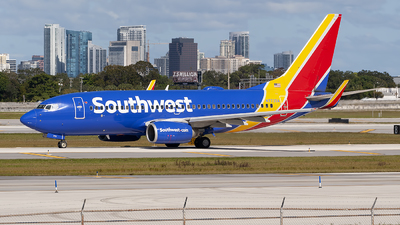 A picture of N773SA - Boeing 7377H4 - Southwest Airlines - © Mark Lawrence