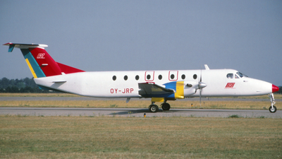 OY-JRP - Beech 1900C - Danish Air Transport (DAT)