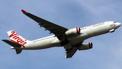 A picture of VHXFH - Airbus A330243 - Virgin Australia - © Robbie Mathieson