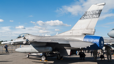 93-0545 - General Dynamics F-16CM Fighting Falcon - United States - US Air Force (USAF)