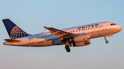 A picture of N892UA - Airbus A319132 - United Airlines - © bellcc