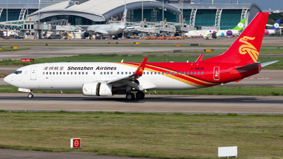 A picture of B5618 - Boeing 73787L - Shenzhen Airlines - © Jerry_Hammer
