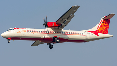 A picture of VTAII - ATR 72600 - Alliance Air - © Yajat