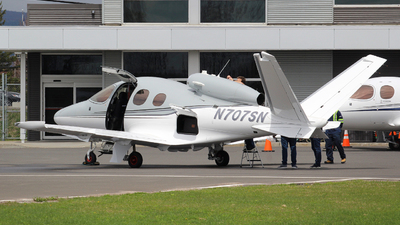 N707SN - Cirrus Vision SF50 - Private