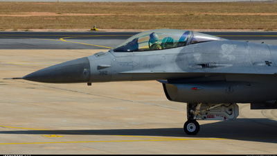 92-3912 - Lockheed Martin F-16C Fighting Falcon - United States - US Air Force (USAF)