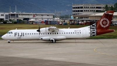 A picture of DQFJX - ATR 72600 - Fiji Airways - © Lorenzo Fantoni