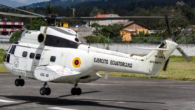 AEE-458 - Aérospatiale SA 330L Puma - Ecuador - Army
