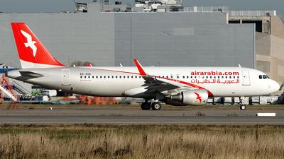 A6-AOD - Airbus A320-214 - Air Arabia
