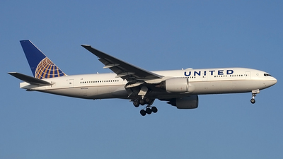 A picture of N797UA - Boeing 777222(ER) - United Airlines - © Philipp Schuetz