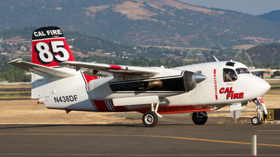 N438DF - Grumman S-2F3AT Turbo Tracker - United States - California Department of Forestry