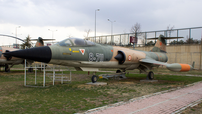62-711 - Canadair CF-104D Starfighter - Turkey - Air Force
