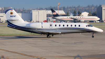 N81NT - Cessna 680 Citation Sovereign - Private