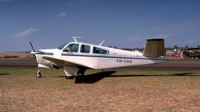 VH-CAG - Beechcraft 35 Bonanza - Australia - Department of Aviation