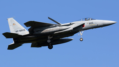 82-8905 - McDonnell Douglas F-15J Eagle - Japan - Air Self Defence Force (JASDF)