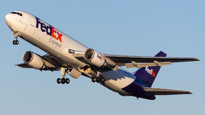 A picture of N136FE - Boeing 767300F(ER) - FedEx - © Positive Rate Photography