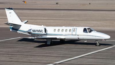 N819SC - Cessna 550 Citation II - Private