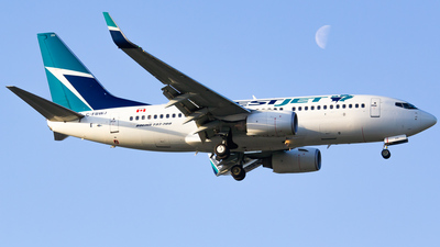 C-FBWJ - Boeing 737-7CT - WestJet Airlines