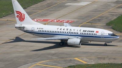 B-2700 - Boeing 737-79L - Air China