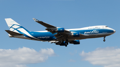 VQ-BHE - Boeing 747-4KZF(SCD) - Air Bridge Cargo