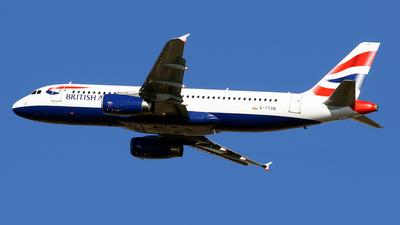 A picture of GTTOB - Airbus A320232 - British Airways - © Javier Rodriguez - Amics de Son Sant Joan