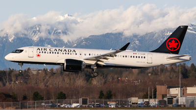 A picture of CGJXE - Airbus A220300 - Air Canada - © Timothy Chow