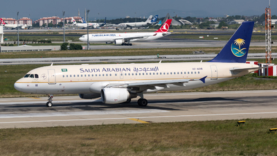 HZ-AS18 - Airbus A320-214 - Saudi Arabian Airlines