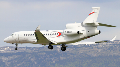 F-WWQC - Dassault Falcon 8X - Dassault Aviation