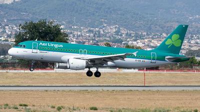 A picture of EIDVI - Airbus A320214 - Aer Lingus - © Fernando Roca
