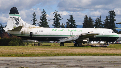 C-GYCG - Lockheed L-188C(F) Electra  - Conair Aviation