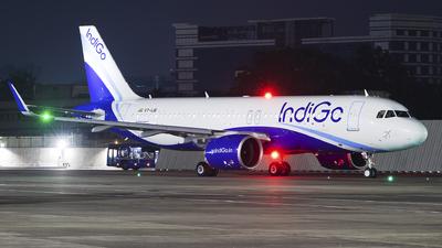 A picture of VTIJB - Airbus A320271N - IndiGo - © Akshay M