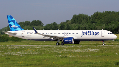 N2142J - Airbus A321-271NX - jetBlue Airways