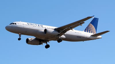 N457UA - Airbus A320-232 - United Airlines