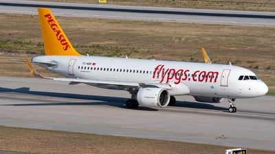 A picture of TCNBB - Airbus A320251N - Pegasus Airlines - © Turkay Oksuz
