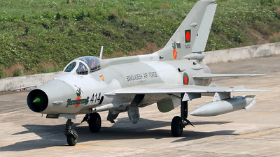 1414 - Chengdu F-7MB - Bangladesh - Air Force