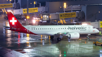 HB-AZE - Embraer 190-300STD - Helvetic Airways