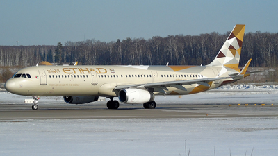 A picture of A6AEJ - Airbus A321231 - Etihad Airways - © Timofey Panteleev