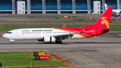 B-5608 - Boeing 737-87L - Shenzhen Airlines