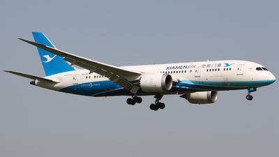 A picture of B2769 - Boeing 7878 Dreamliner - Xiamen Air - © Li Ruixiang