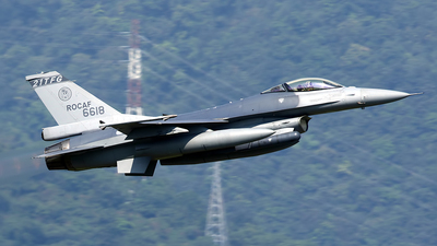 6618 - General Dynamics F-16A Fighting Falcon - Taiwan - Air Force