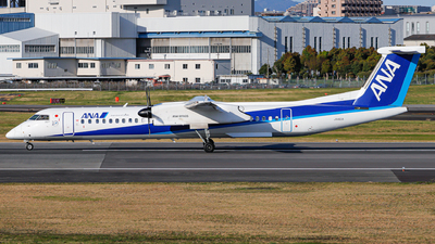 A picture of JA463A - De Havilland Canada Dash 8400 - All Nippon Airways - © Kirifud_2003