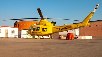 EC-KUV - Agusta-Bell AB-412 Griffon - Babcock MCS Spain