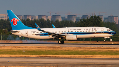 A picture of B5445 - Boeing 73781B - China Southern Airlines - © SnowMiku39