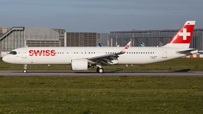 D-AZAN - Airbus A321-271NX - Swiss