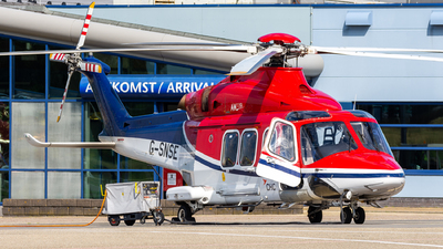 A picture of GSNSE - AgustaWestland AW139 - CHC Helikopter Service - © Dutch