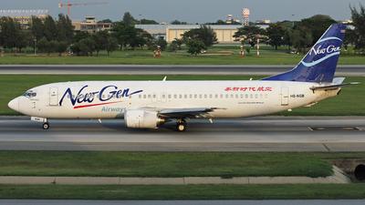 A picture of HSNGB - Boeing 7374H6 - [27673] - © kittikun_y