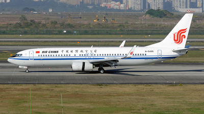 B-5495 - Boeing 737-89L - Air China