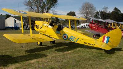 ZK-BLI - De Havilland DH-82A Tiger Moth - Private