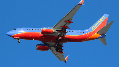 N264LV - Boeing 737-7H4 - Southwest Airlines